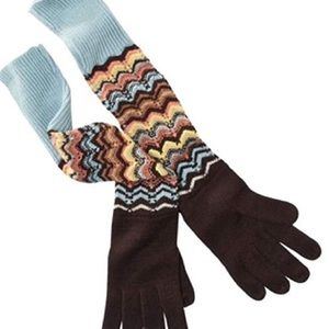 Missoni for Target Zig Zag Gloves